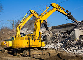 Demolition Excavators
